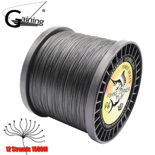 1500M PE Line 12 Strands Braided Fishing Line Super Strong Japan Multifilament 35 180LB Carp Fishing Pesca