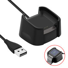 Charging Cradle Dock USB Data Cable Base Desktop Charger For Fitbit Versa Watch(China)
