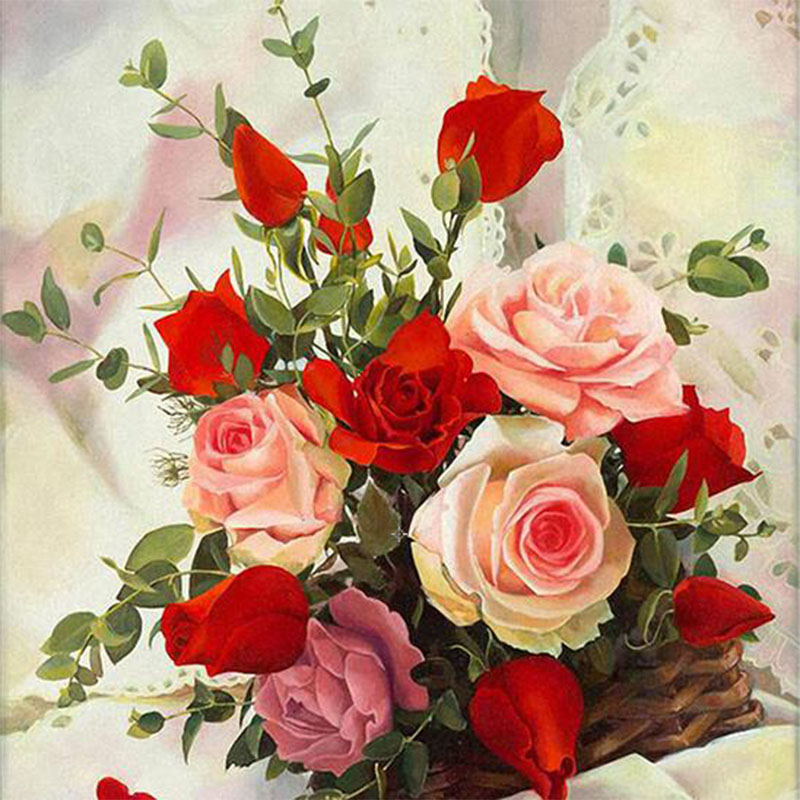 Красивые цветы открытки для девушки