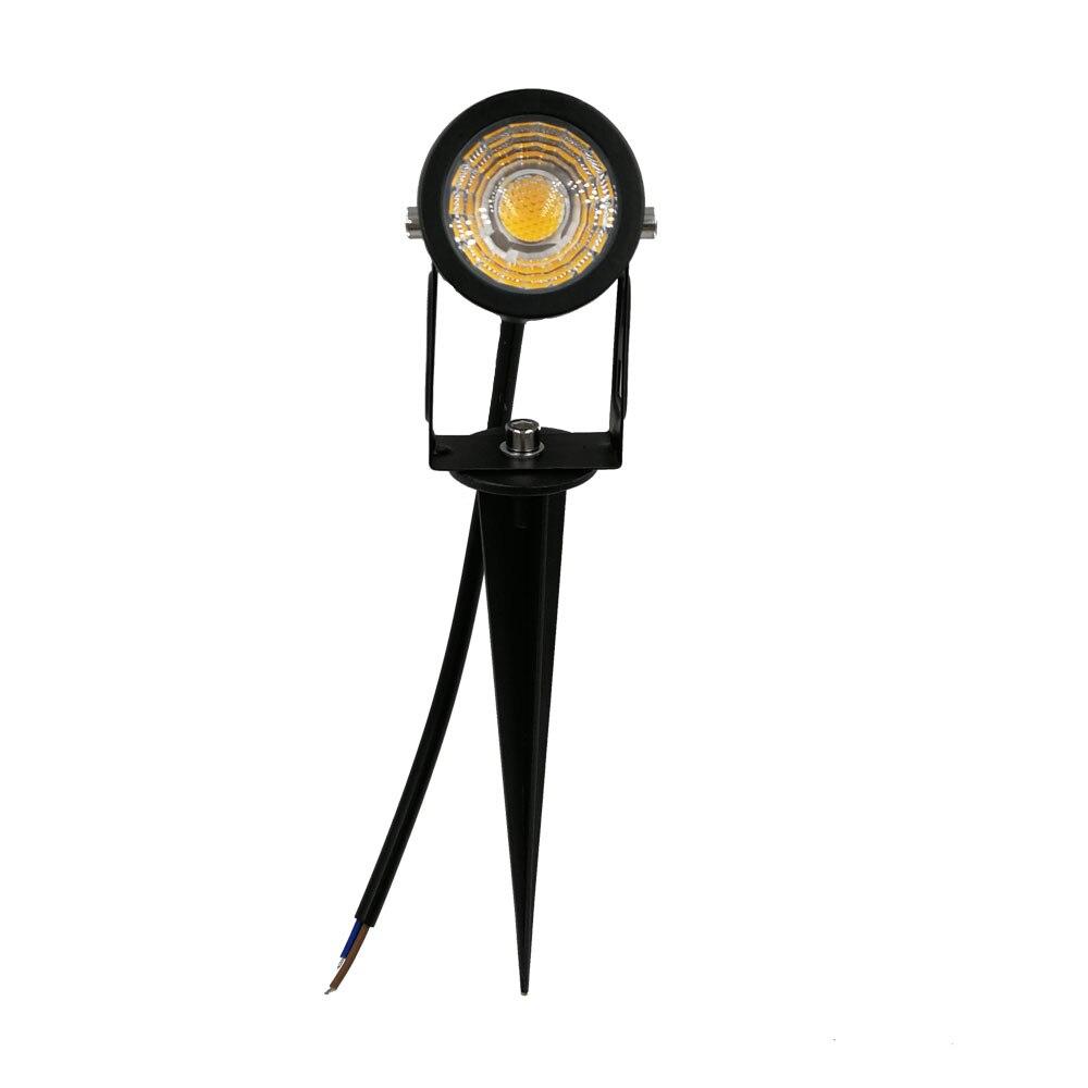 New Design Outdoor Lawn Lamp COB 3W 5W Led Lawn Light 12v 110v 220V Spike Lawn Light Bulb For Garden Lighting