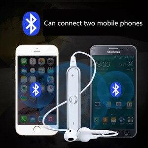 Image 4 - Bluetooth אלחוטי אוזניות עם מיקרופון עמיד למים ריצה אוזניות HD אוזניות סטריאו עבור אימון כושר Auriculares sh *