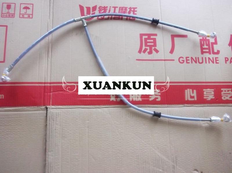 цена на XUANKUN BJ600/BN600/BJ600GS-A Front Brake Hose Assembly