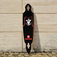 KOSTON pro longboard deck with 8ply hard rock canadian maple hot air pressed popular long skateboard