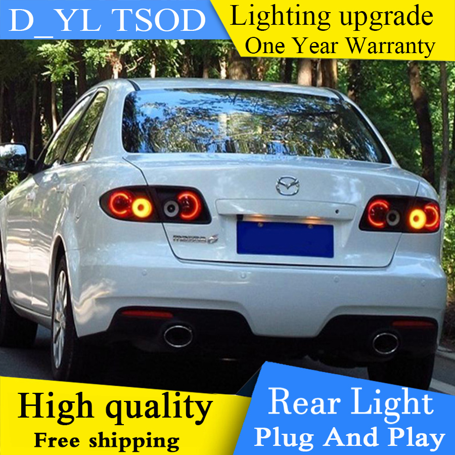 Car Styling for Mazda 6 Taillights 2003 2013 Mazda6 LED Tail Lamp Rear Lamp Rear light