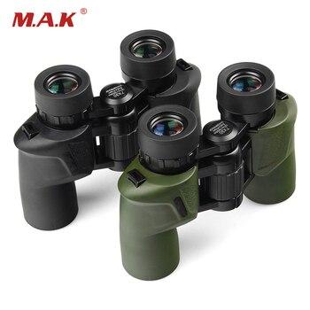 7x30 Binoculars Telescope HD Waterproof With BAK4 Prism Military Center Focusing Binoculars for Watching