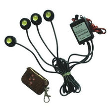 4 in1 12V Hawkeye LED Car Emergency Strobe Lights W/ Wireless Remote Control New(China)