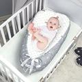 Детская портативная кровать-гнездо  съемная и моющаяся кровать для путешествий  специальный детский матрас на лето