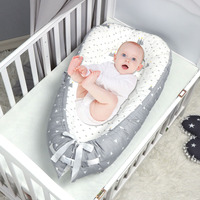 Baby Nest Bed Crib Portable Removable And Washable Crib Travel Bed For Children Special mattress for summer