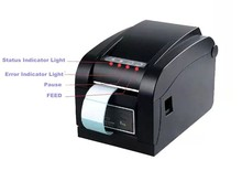 Бесплатная доставка Xp 350b Принтер Штрих-Кода Принтер Этикеток машина Универсальный билет принтер Штрих-Кода