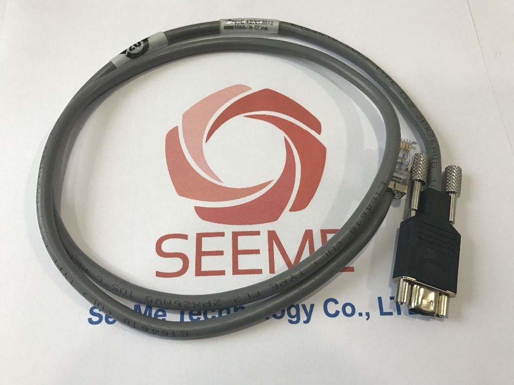 EMC 038-003-085 MICRO DB9 TO RJ12 SPS Battery Cable WinC 43WK2013