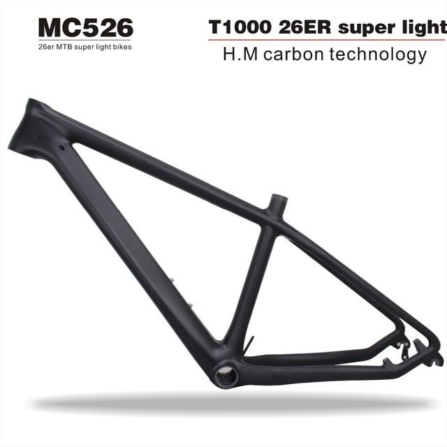 2019 T1000 carbon frame 26er carbon mountain bike frame mtb 26er ...