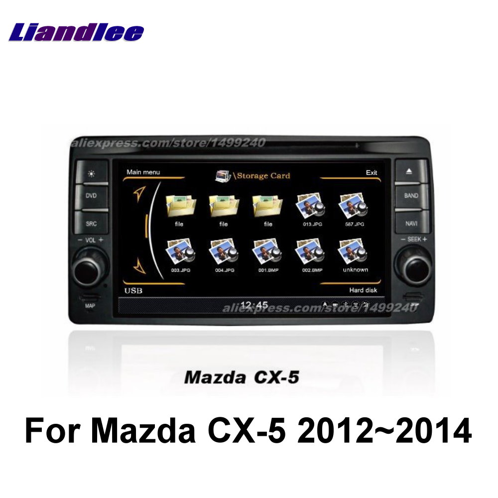 Liandlee 2din For <font><b>Mazda</b></font> <font><b>CX5</b></font> CX 5 CX-5 2012~2014 Car Android Radio GPS Maps <font><b>Navigation</b></font> player BT WIFI HD Screen Multimedia System image
