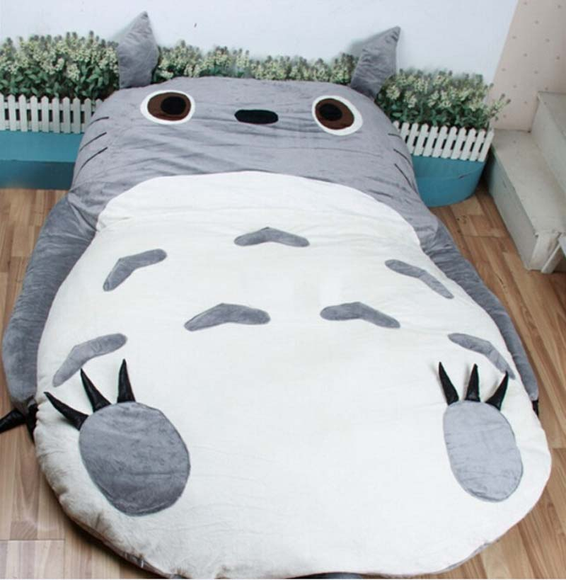 200cm X 160cm Giant Anime Totoro Beanbag Plush Bed Carpet Tatami Memory Foam Pad 2 Models Free Shipping In Stuffed Animals From Toys Hobbies On