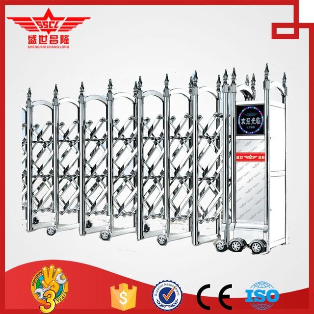 tubular gate design factory price automatic iron main pipe gate ...