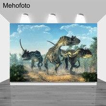 NeoBack Dinosaur Backdrop Forest Child Birthday Photography Background backdrops