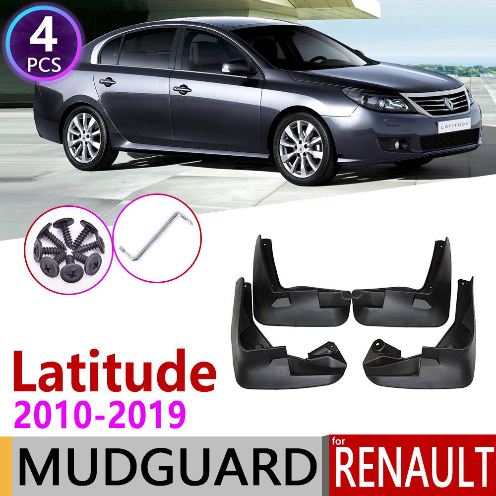 Mudflap For Renault Latitude 2010~2019 Safrane Samsung SM5  Fender Mud Guard Flap Splash Flaps Mudguards Accessories 2011 2012