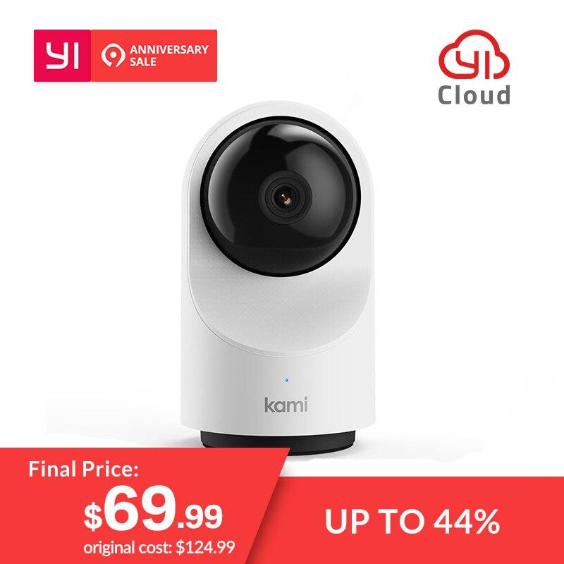 YI Kami Indoor умный дом 1080 P Камера ip-камеры видеонаблюдения Датчик движения 2-способ аудио Режим конфиденциальности 6 месяцев Бесплатная облако