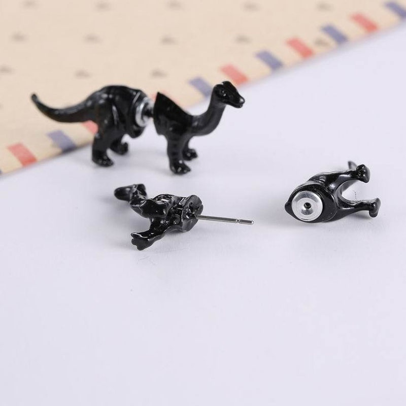 Dinosaur Stud Earrings