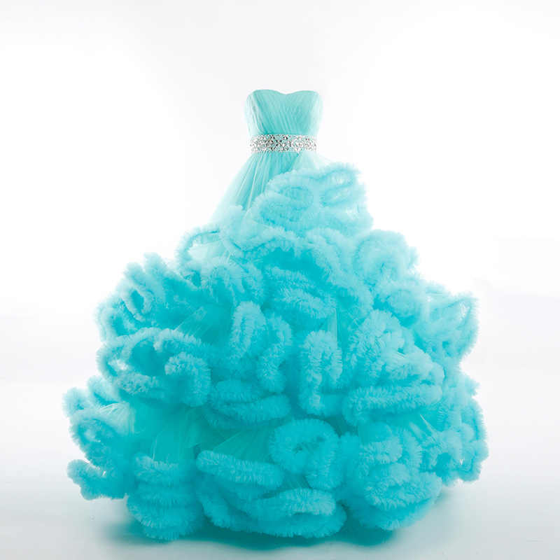 Real Photo Winter Luxury Pregant alta calidad Lace Up Cloud Puffy vestido De novia Borgoña vestidos De novia Robe De Mariage rojo 2019