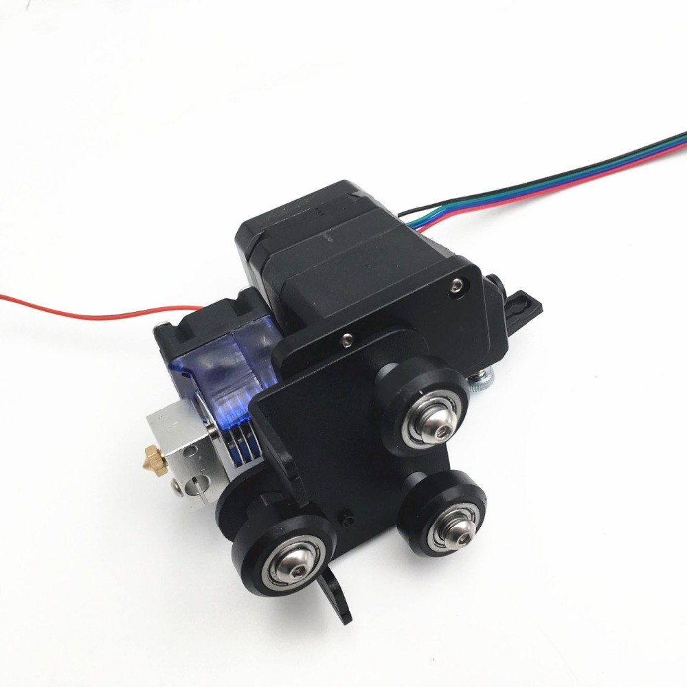Assembled Creality CR-10/Ender-3 /Ender 3 Pro BMG Extruder Direct Drive Extruder Mount V6 Hotend Kit 1.75mm