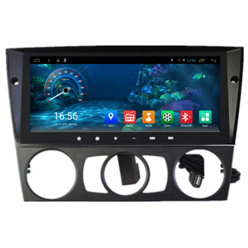 8.8&#8243; Android 4.4 Quad Core 16GB 1.6GHZ Car Autoradio GPS Headunit Navi for <font><b>BMW</b></font> 3 Series <font><b>E90</b></font> E91 E92 E93 3G WIFI support DVR OBD