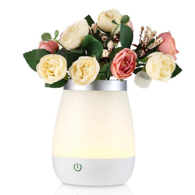 Nová nabíjateľná LED váza – 3 režimy – nočné svetlo
