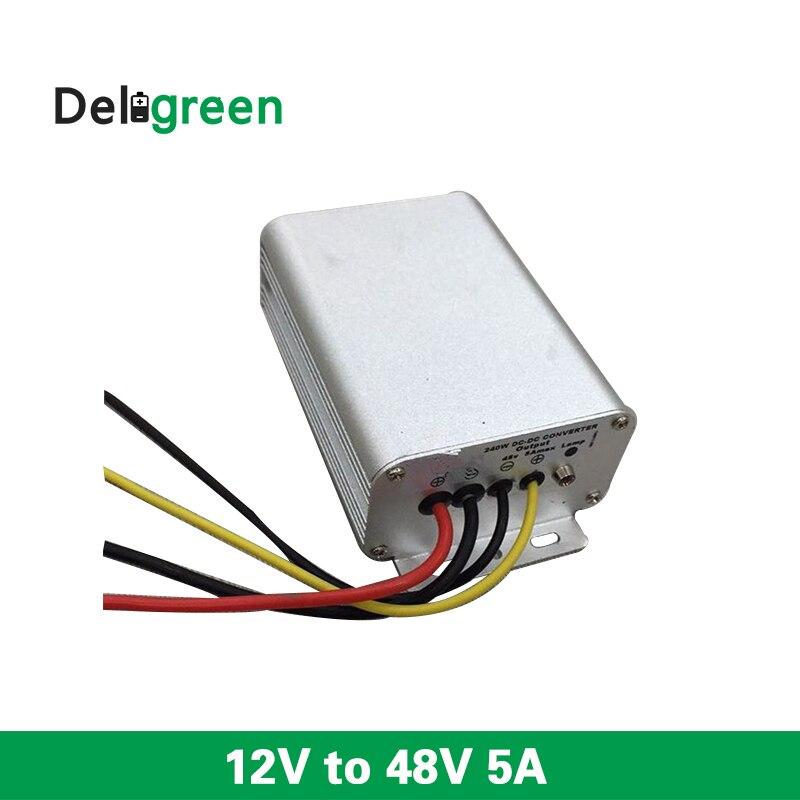 12V à 48V 5A régulateur de convertisseur de courant continu à courant continu