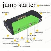 2018 Newest 5800mAh 12V Car Jump Starter Emergency Start MINI Portable Car Jump Starter Multi Function