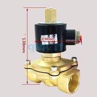 DC12/24V AC110/220V 1 BSPP Normally Open Flow Pore 25mm Brass Gas Oil Water Solenoid Valve