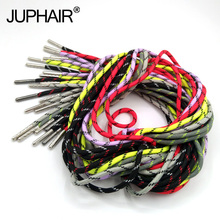1 Pair Outdoor Casual Round Shoelaces Hiking Hiking Slip Rope Shoes Tennis  Skate Boots Matching High-grade Metal Shoelace Head 1 pair thick round lace tooling boots mens womens climbing sports shoes high outdoor basketball rope shoes high grade metal head
