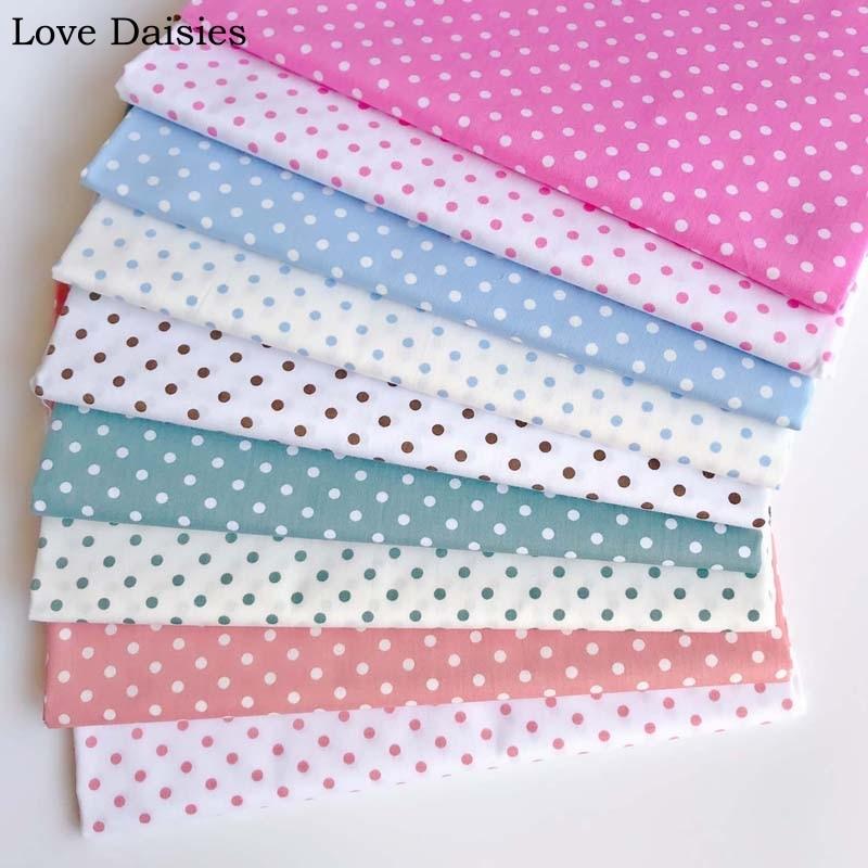 100 Cotton Twill Cloth Green Pink