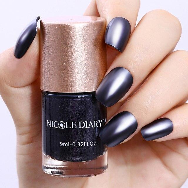 Tienda Online Nicole diario 9 ml metálico Esmaltes de uñas efecto ...
