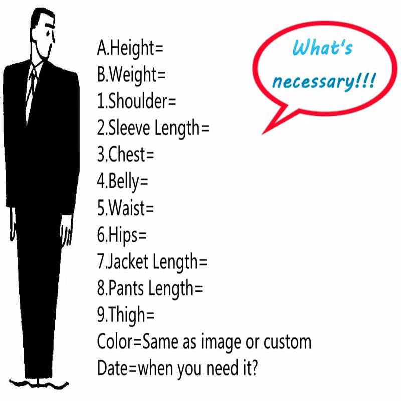 Coklat Tweet untuk Pria Blazer Smart Kasual Bisnis Tuxedo Pria Cocok untuk Pernikahan dengan Celana Slim Fit Street Jaket Musim Dingin dipesan Lebih Dahulu