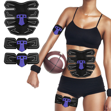 Abdominal Muscle Trainer Smart Electronic Muscle Stimulator ABS Arm Leg Slimming Weight Loss Fitness Massager Exercise Machine vibroaction massager electronic body muscle arm leg waist abdominal massage exercise muscle training belt slim fit weight loss