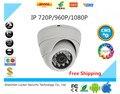 Мини Ip-камера 720 P 960 P 1080 P Безопасности HD Сетевая Камера ВИДЕОНАБЛЮДЕНИЯ Мегапиксельная Крытый Сети IP Купольная Камера ONVIF H.264 Свободный Корабль