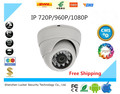 Mini IP Camera 720P 960P 1080P Security HD Network CCTV Camera Mega Pixel Indoor Network IP Dome Camera ONVIF H.264 Free Ship