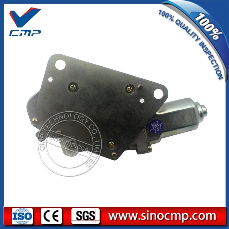 SINOCMP Excavator Wiper Motor for Hitachi ZX200-3 ZX210-3 ZX220-3 ZX230-3 ZX240-3 ZX330-3 Motor Parts 3 month warranty 4709168 Wiper Motor