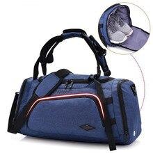 2018 Multifunkcionális utazási kacsa táska tornaterem táska független cipő zseb Női és férfi Sport Fitness hátizsák