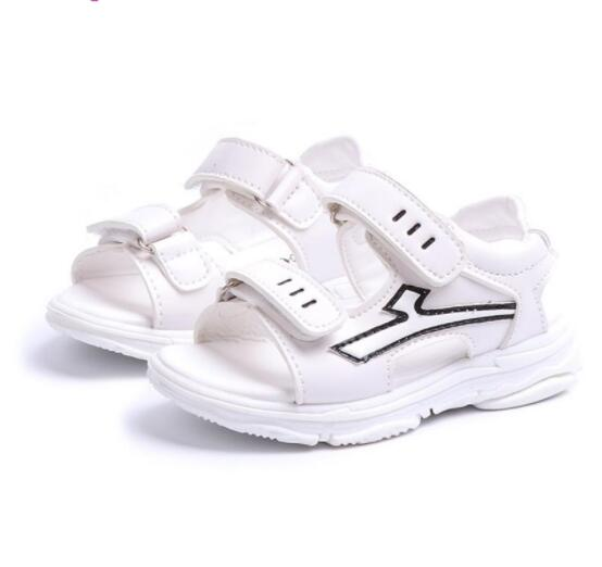 ChildS Summer Fashion Boys Sandals Baby Boys Leather Sandals High Quality ChildrenS Shoes Beach Kids Shoe Infant