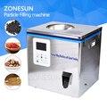 ZONESUN máquina de té envasado máquina de llenado bolsita puede máquina de llenado, gránulo medlar automático máquina de pesaje relleno en polvo