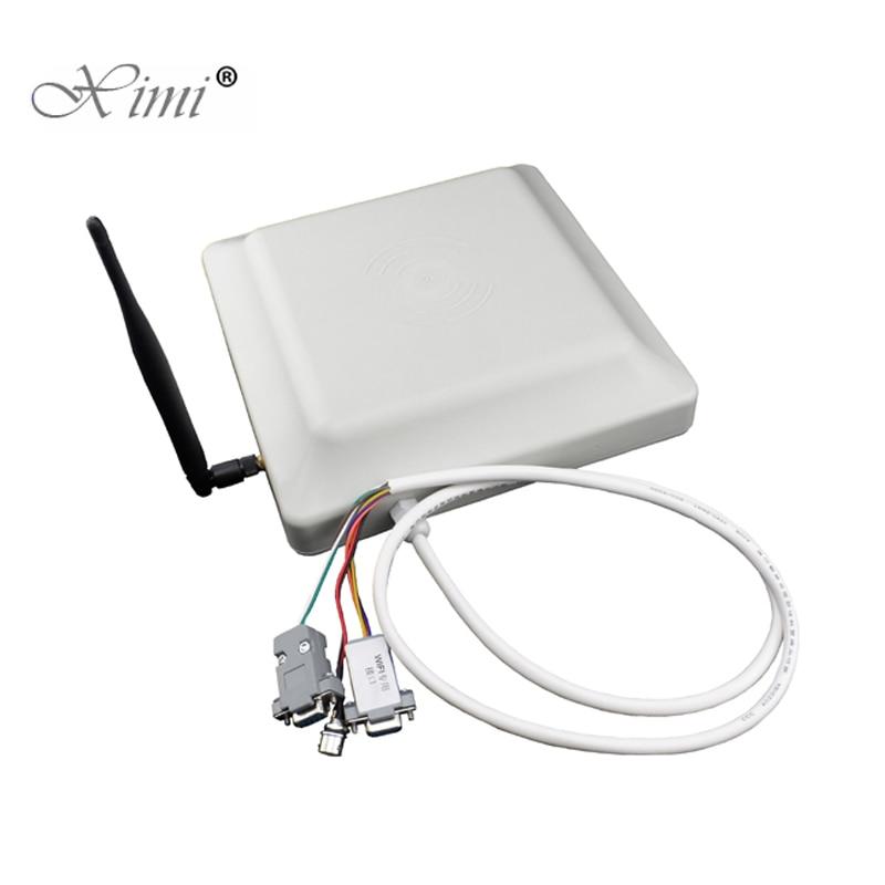 Système d'accès de Parking de voiture de porte de barrière de Boom de G20 6M lecteur de carte d'uhf RFID lecteur d'antenne à longue portée intégratif 1-6M