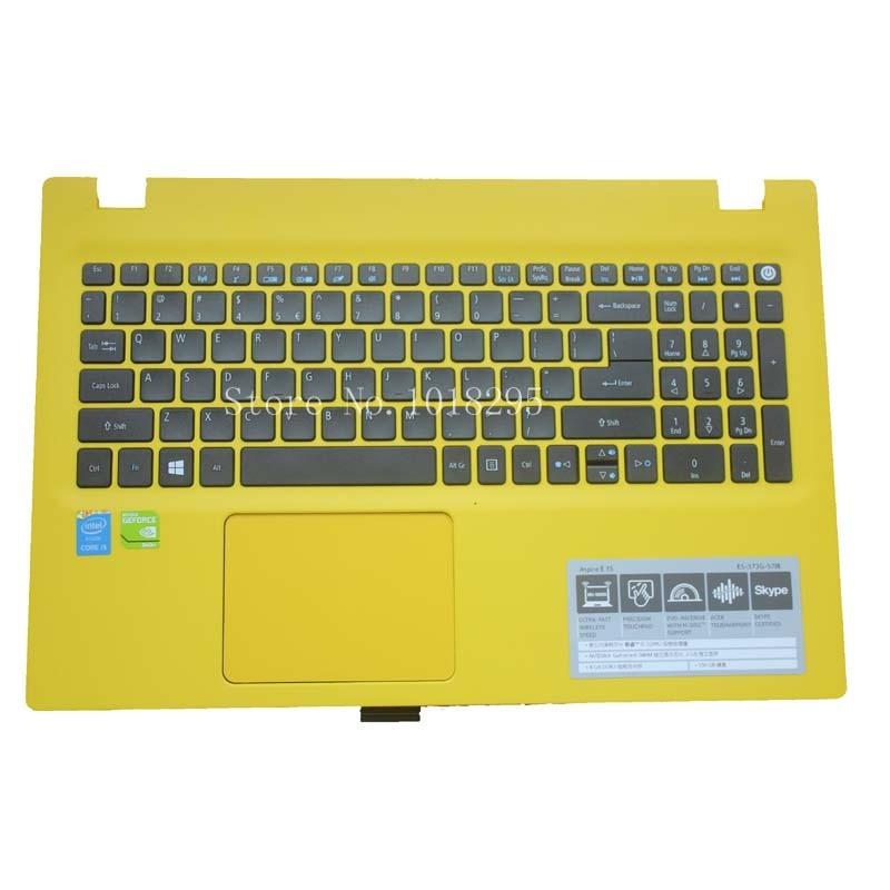 Teclado do portátil para Acer Aspire E5-722 E5-772 V3-574G E5-573T E5-573 E5-573G E5-573T E5-532G F5-573G E3-573G-571R EUA shell