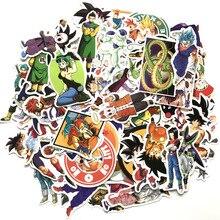100 ピース/ロットアニメドラゴンボールステッカー超サイヤ人悟空ためスノーボード荷物車冷蔵庫ノート Pc モト DIY ステッカー