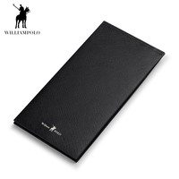 WILLIAMPOLO 2018 Leather Men Wallets Wallets Man Card Holder Male Purse Men With Placement POLO185133