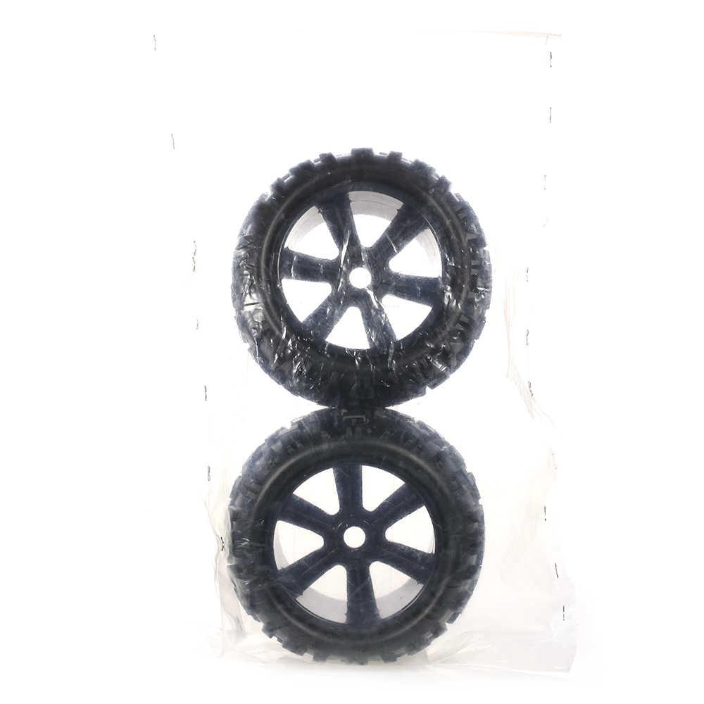 2 piezas 3,6 pulgadas 150mm Monster camión rueda llanta y neumático para 1/8 Traxxas HSP HPI E-MAXX flujo salvaje ZD Racing RC Coche
