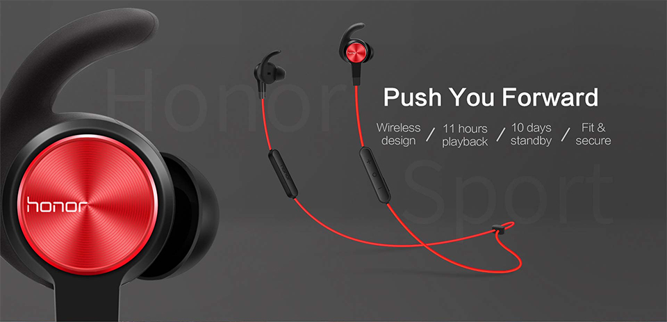 Huawei Honor xSport Bluetooth Headset AM61 IPX5 Waterproof BT4.1 Music Mic Control Wireless Earphones for Android IOS D5 (9)