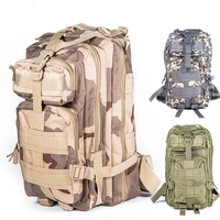Military Tactical Assault Molle 3P Backpack Hydration Pack Camouflage Camping Hiking Trekking Gym Wholesale Survival Bag