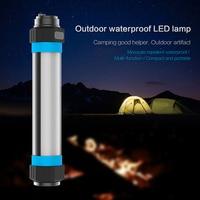 Outdoor Camping Hiking Waterproof LED Light Anti Mosquito Emergency Window Glass Breaker Phone Power Bank Lamp