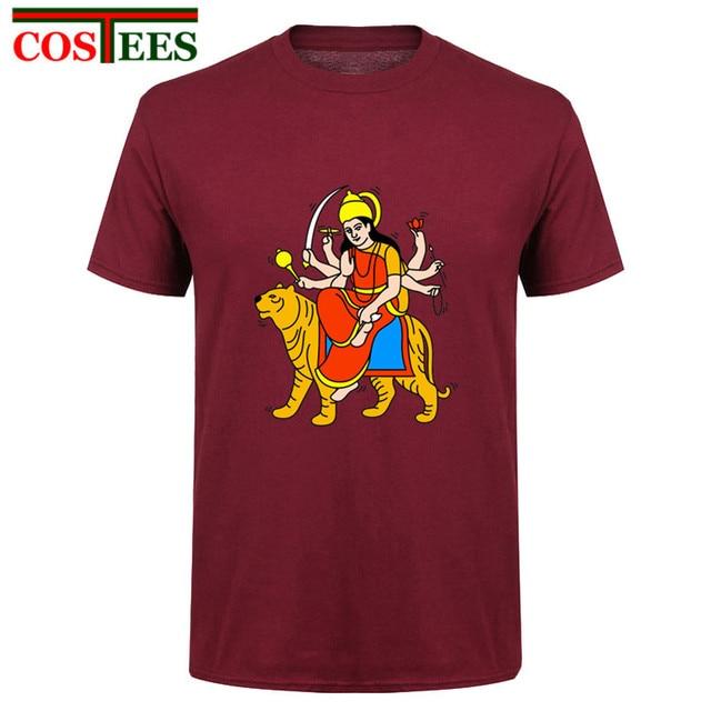 Maa Durga Keith Haring Tribute T-shirt men Indian Mythological Warrior  Goddess T shirt homme Hindu shiva the god T shirts hombre 72f3dc9b7
