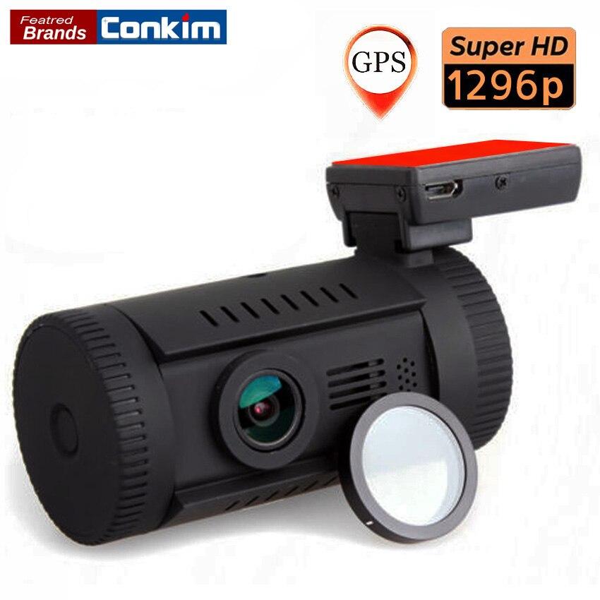 Conkim car dvr Mini 0826(0806 Plus) Full HD2304x1296P Ambarella A7LA50 OV4689 Car DVR GPS Dash Cam+CPL Filter car DVR recorder цена и фото